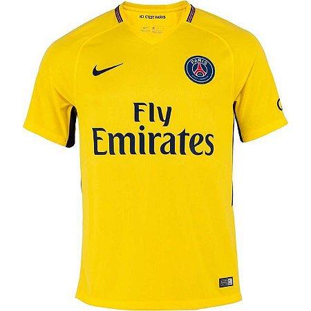 Camisa oficial Nike PSG 2017 2018 II jogador