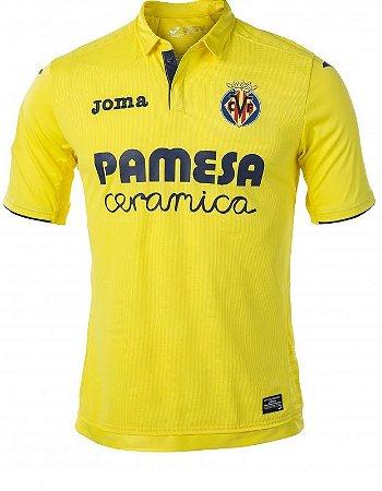 Camisa oficial Joma Villarreal 2017 2018 I jogador