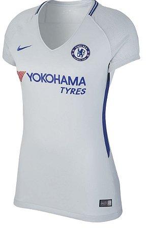 Camisa feminina oficial Nike Chelsea 2017 2018 II