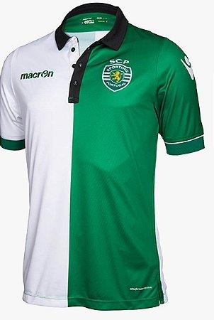 Camisa oficial Macron Sporting Lisboa 2017 2018 III jogador