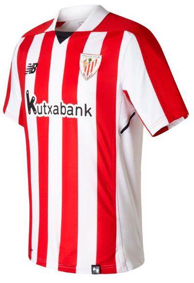 Camisa oficial New Balance Atletico de Bilbao 2017 2018 I jogador