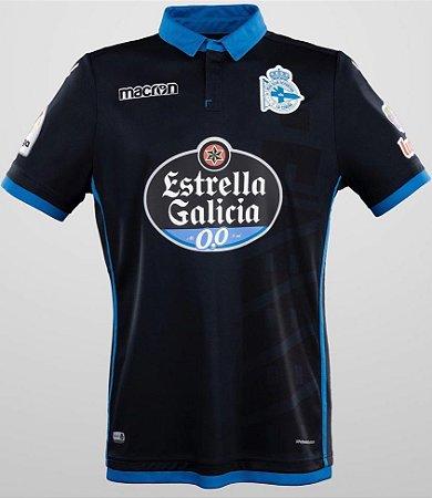 Camisa oficial Macron Deportivo La Coruña 2017 2018 III jogador