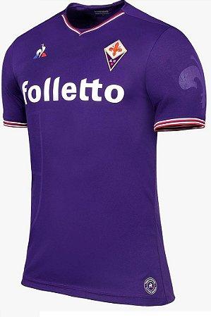 Camisa oficial Le Coq Sportif Fiorentina 2017 2018 I jogador