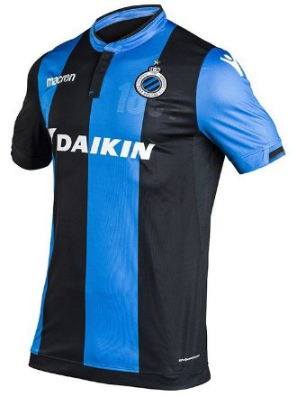 Camisa oficial Macron  Club Brugge 2017 2018 I jogador