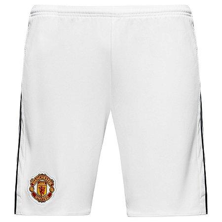 Calção oficial Adidas Manchester United 2017 2018 I jogador