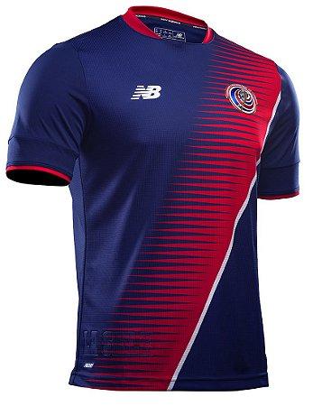 Camisa oficial New Balance seleção da Costa Rica 2017 III jogador Copa Ouro