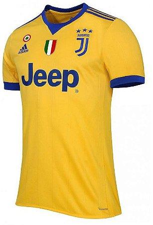 Camisa oficial Adidas Juventus 2017 2018 II jogador