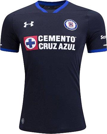 Camisa oficial Under Armour Cruz Azul 2017 2018 III jogador
