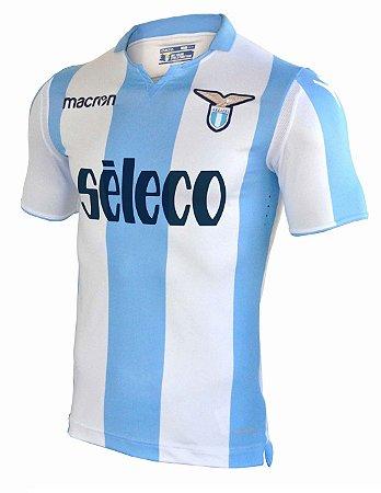 Camisa oficial Macron Lazio 2017 2018 II jogador