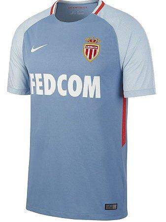 Camisa oficial Nike AS Monaco 2017 2018 II jogador