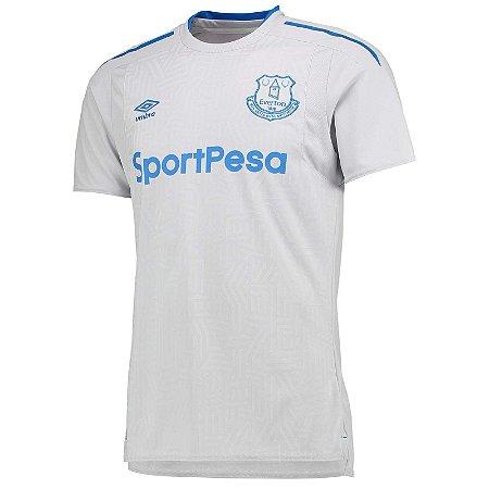Camisa oficial Umbro Everton 2017 2018 II jogador