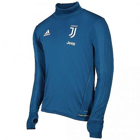 Blusão pre jogo oficial Adidas Juventus 2017 2018 Azul