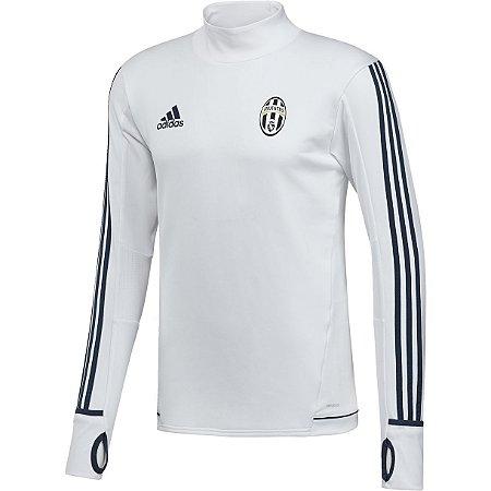 Blusão pre jogo oficial Adidas Juventus 2017 2018 branco