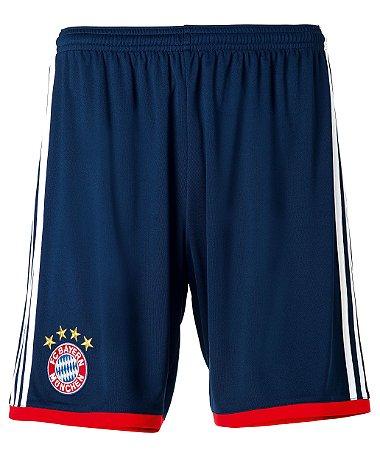 Calção oficial Adidas Bayern de Munique 2017 2018 II jogador