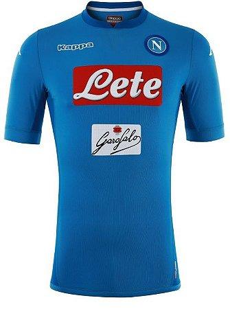 Camisa oficial Kappa Napoli 2017 2018 I jogador