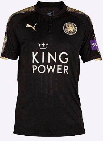 Camisa oficial Puma Leicester City 2017 2018 II jogador