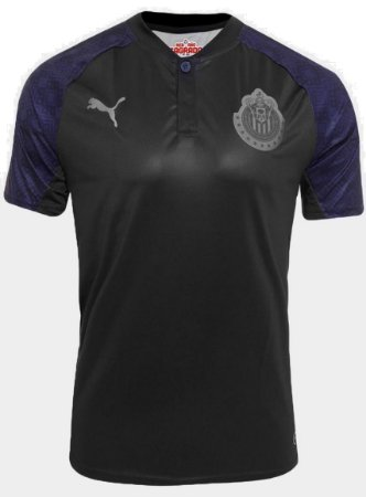 Camisa oficial Puma Chivas Guadalajara 2017 2018 II jogador