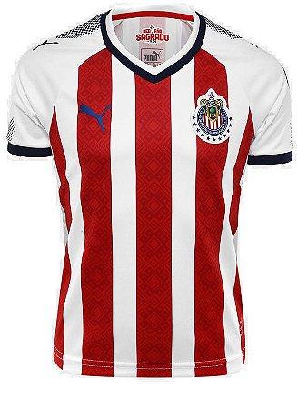 Camisa oficial Puma Chivas Guadalajara 2017 2018 I jogador