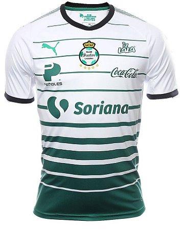 Camisa oficial Puma Santos Laguna 2017 2018 I jogador