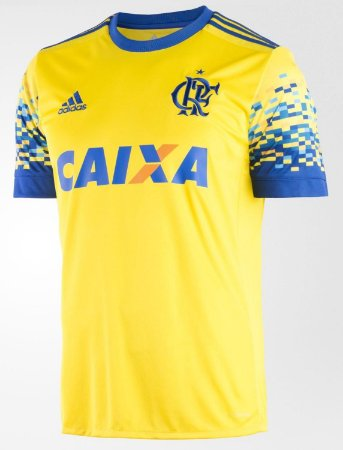 Camisa oficial Adidas Flamengo 2017 III jogador