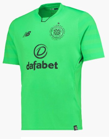 Camisa oficial New Balance Celtic 2017 2018 III jogador