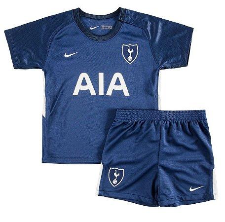 Kit oficial infantil Nike Tottenham 2017 2018 II jogador
