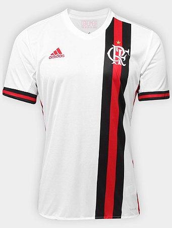 Camisa oficial Adidas Flamengo 2017 II jogador sem patrocinio