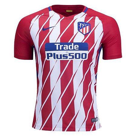 Camisa oficial Nike Atletico de Madrid 2017 2018 I jogador