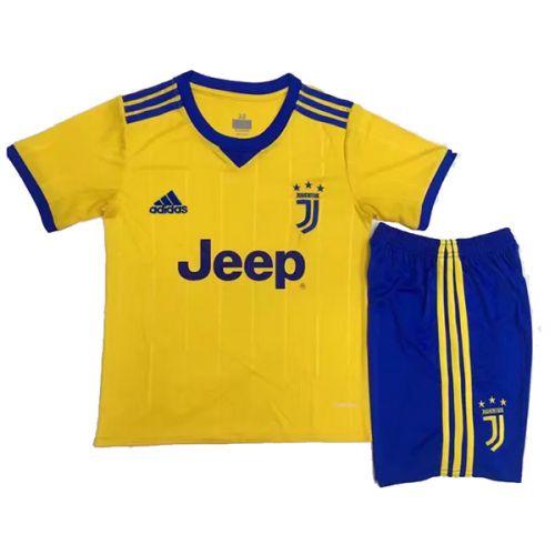 Kit infantil oficial Adidas Juventus 2017 2018 II jogador