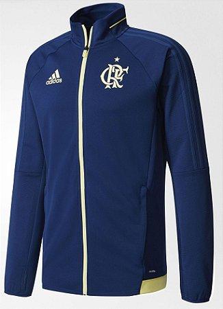 Jaqueta oficial Adidas Flamengo 2017 Azul