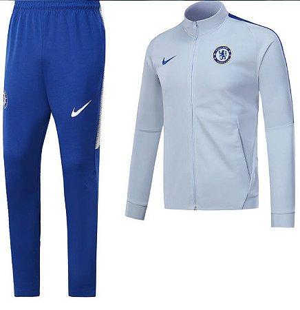 Kit treinamento oficial Nike Chelsea 2017 2018 Branco