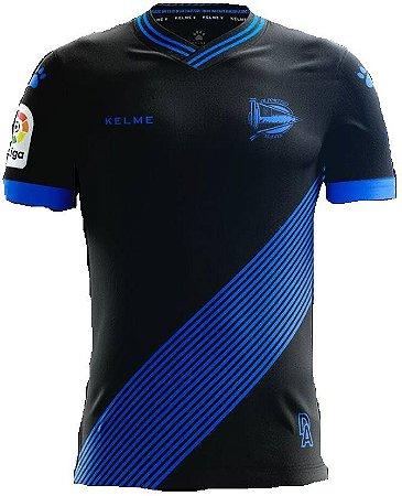 Camisa oficial Kelme Alaves 2017 2018 II jogador