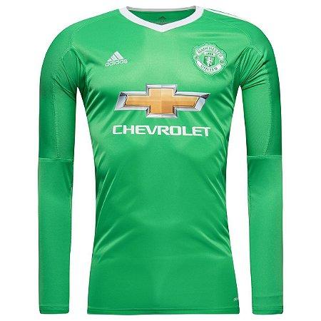 Camisa oficial Adidas Manchester United 2017 2018 II goleiro