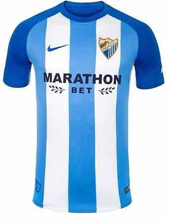 Camisa oficial Nike Malaga 2017 2018 I jogador