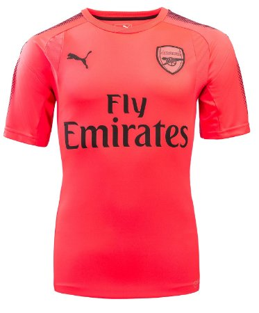 Camisa oficial Puma Arsenal 2017 2018 II goleiro