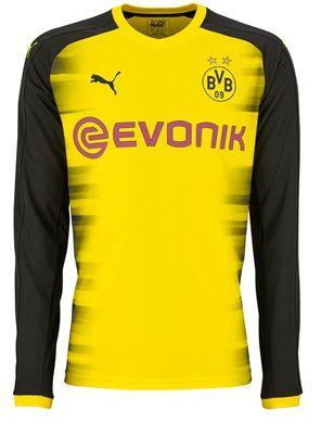 Camisa oficial Puma Borussia Dortmund 2017 2018 III jogador manga comprida
