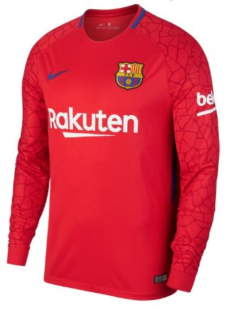 Camisa oficial Nike Barcelona 2017 2018 I goleiro