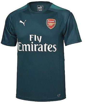 Camisa oficial Puma Arsenal 2017 2018 I goleiro