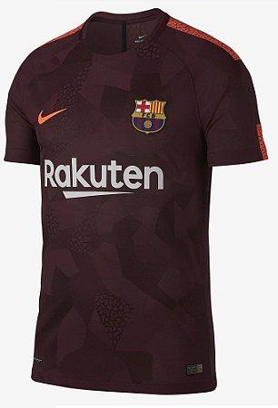 Camisa oficial Nike Barcelona 2017 2018 III jogador