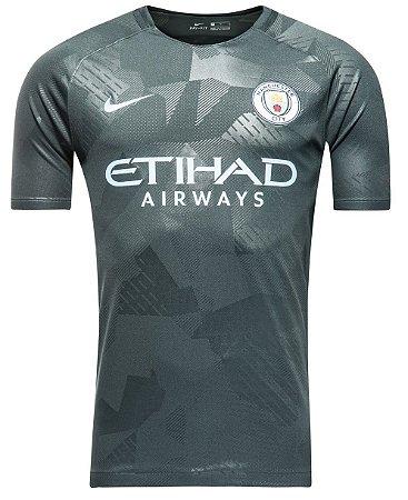 Camisa oficial Nike Manchester City 2017 2018 III jogador