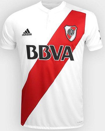 Camisa oficial Adidas River Plate 2017 2018 I jogador