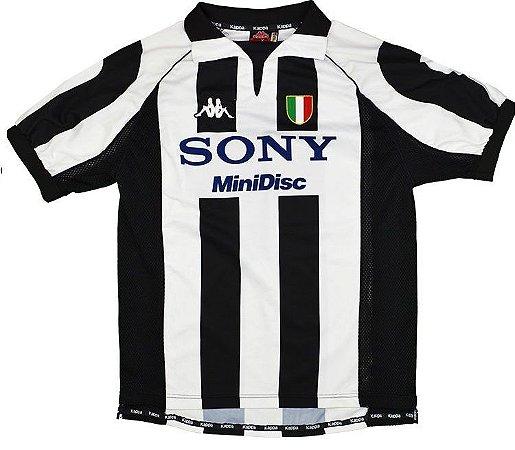 Camisa retro Kappa Juventus 1997 1998 I jogador