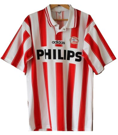 Camisa retro Adidas PSV Eindhoven 1994 1995 I jogador