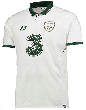 Camisa oficial New Balance seleção da Irlanda 2018 II jogador