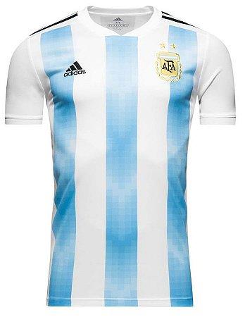 Camisa oficial Adidas seleção da Argentina 2018 I jogador