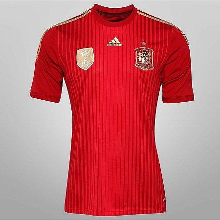 Camisa oficial adidas Seleção da espanha 2014 I jogador