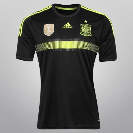 Camisa oficial adidas Seleção da espanha 2014 II jogador