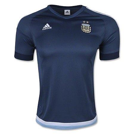 Camisa oficial adidas Seleção da argentina 2015 II jogador Copa América