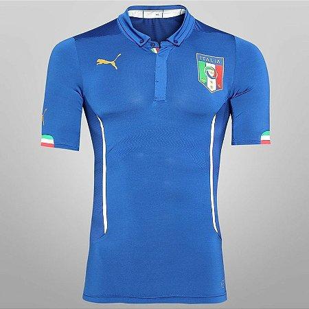 Camisa oficial Puma Seleção da Itália 2014 I Jogador
