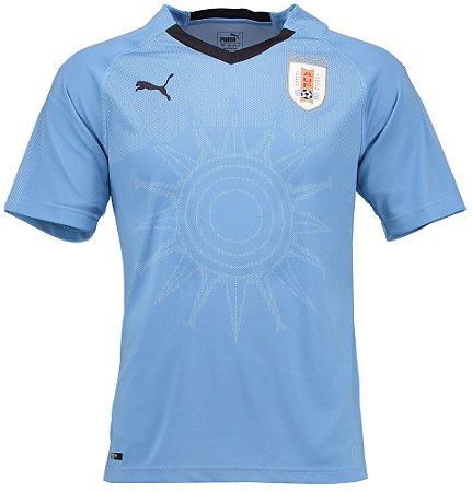 Camisa oficial Puma seleção do Uruguai 2018 I jogador